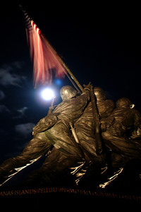 Iwo Jima Memorial - Washington, DC ... October 16, 2005 ... Photo by Rob Page III