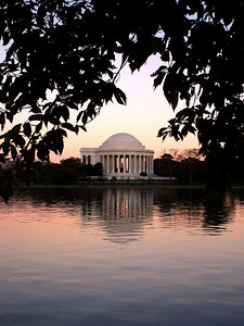 The Jefferson Memorial - Washington, DC ... October 30, 2005 ... Photo by Rob Page III