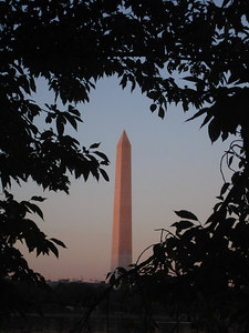 The Washington Monument - Washington, DC ... October 30, 2005 ... Photo by Rob Page III