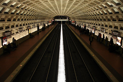 The Gallery Place - Chinatown Metro Station - Washington, DC ... October 14, 2006 ... Photo by Rob Page III