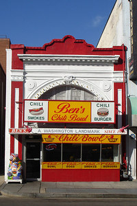 Ben's Chili on U Street - Washington, DC ... October 13, 2006 ... Photo by Rob Page III