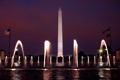 The Washington Monument and the World War II Memorial - Washington, DC ... October 22, 2006 ... Photo by Rob Page III