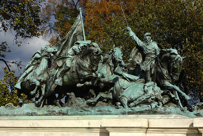 The Civil War Memorial in front of the Capitol - Washington, DC ... October 24, 2006 ... Photo by Rob Page III