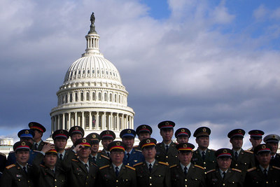 It was weird to see the Chinese Military in front of the Capitol - Washington, DC ... October 24, 2006 ... Photo by Rob Page III