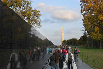The Vietnam Wall and the Washington Monument - Washington, DC ... October 22, 2006 ... Photo by Rob Page III