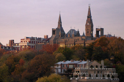 Georgetown University on the hilltop - Washington, DC ... November 6, 2006 ... Photo by Rob Page III