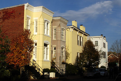 DC Townhouses - Washington, DC ... October 31, 2006 ... Photo by Rob Page III
