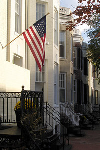 The quiet streets of Georgetown - Washington, DC ... October 31, 2006 ... Photo by Rob Page III