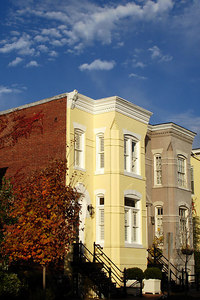 DC Townhouses in Georgetown - Washington, DC ... October 31, 2006 ... Photo by Rob Page III