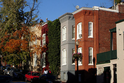 DC Townhouses - Washington, DC ... October 29, 2006 ... Photo by Rob Page III