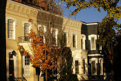 The townhouses of Georgetown - Washington, DC ... November 2, 2006 ... Photo by Rob Page III