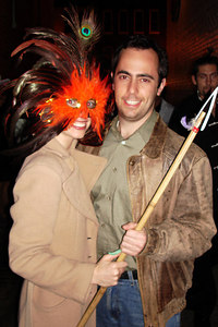 Stephanie and Sean on M St. for Halloween - Washington, DC ... October 31, 2006 ... Photo by Rob Page III