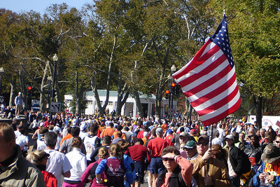 The Marine Corps Marathon - Washington, DC ... October 29, 2006 ... Photo by Rob Page III