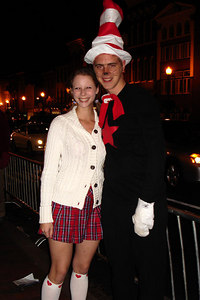 Rob and Emily enjoying Halloween on M St. - Washington, DC ... October 31, 2006 ... Photo by Stephanie Green