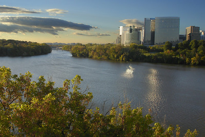 The Rosslyn skyline - Washington, DC ... October 28, 2007 ... Photo by Rob Page III