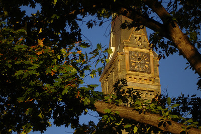 Healy Clocktower - Washington, DC ... October 28, 2007 ... Photo by Rob Page III