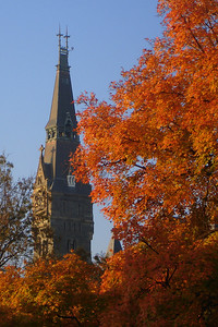 Healy Clocktower - Washington, DC ... November 11, 2007 ... Photo by Rob Page III