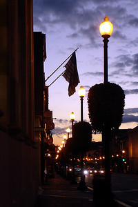 M Street at sunrise - Washington, DC ... October 28, 2007 ... Photo by Rob Page III