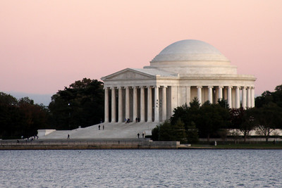 The Jefferson Memorial - Washington, DC ... October 22, 2008 ... Photo by Rob Page III
