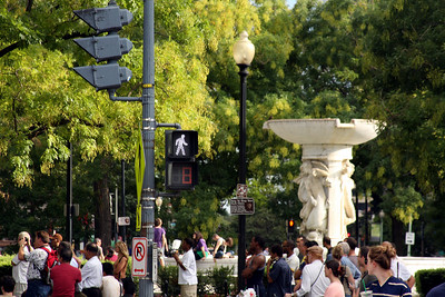 Dupont Circle - Washington, DC ... September 28, 2008 ... Photo by Rob Page III
