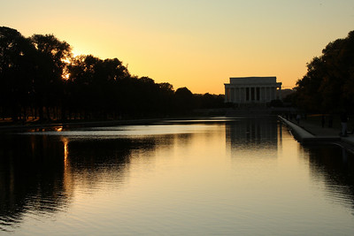 The Lincoln Memorial - Washington, DC ... October 22, 2008 ... Photo by Rob Page III