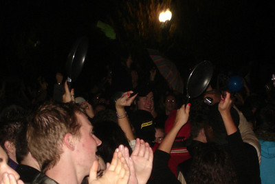 The revelry outside the White House - Washington, DC ... November 4, 2008 ... Photo by Rob Page III