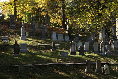 A cemetary along the Rock Creek Parkway - Washington, DC ... October 30, 2008 ... Photo by Rob Page III
