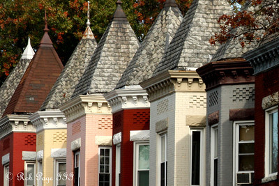 DC townhouses - Washington, DC ... October 25, 2009 ... Photo by Rob Page III
