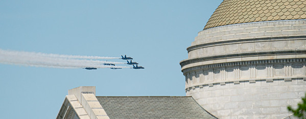 U.S. Navy Blue Angels and Air Force Thunderbirds