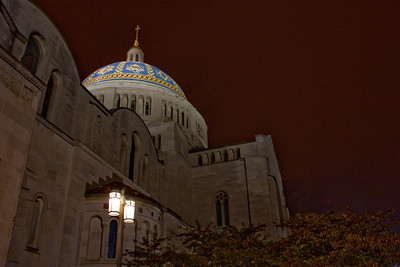 Basilica of the National Shrine of the Immaculate Conception, Dome Side