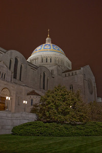 Basilica of the National Shrine of the Immaculate Conception, Side Dome