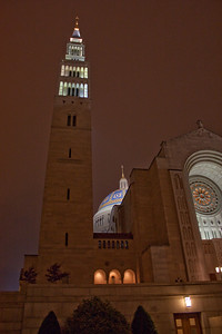 Basilica of the National Shrine of the Immaculate Conception, Main EntranceTower
