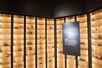 An exhibit at The National Postal Museum in Washington, D.C. on Monday, August 17, 2015. Copyright 2015 Jason Barnette