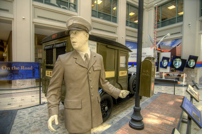 The National Postal Museum in Washington, D.C. on Monday, August 17, 2015. Copyright 2015 Jason Barnette