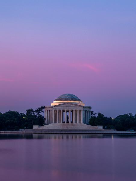 Jefferson at Twilight