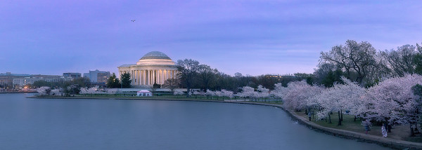 Jefferson Just After Blue Hour