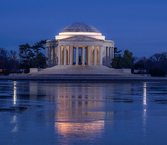 Jefferson Memorial Blue Hour