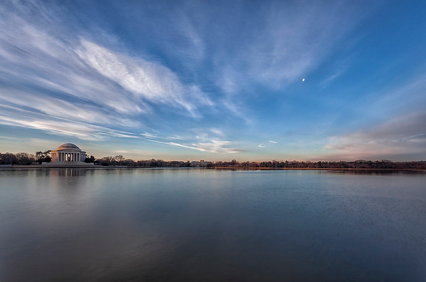 Jefferson Memorial Open Sky