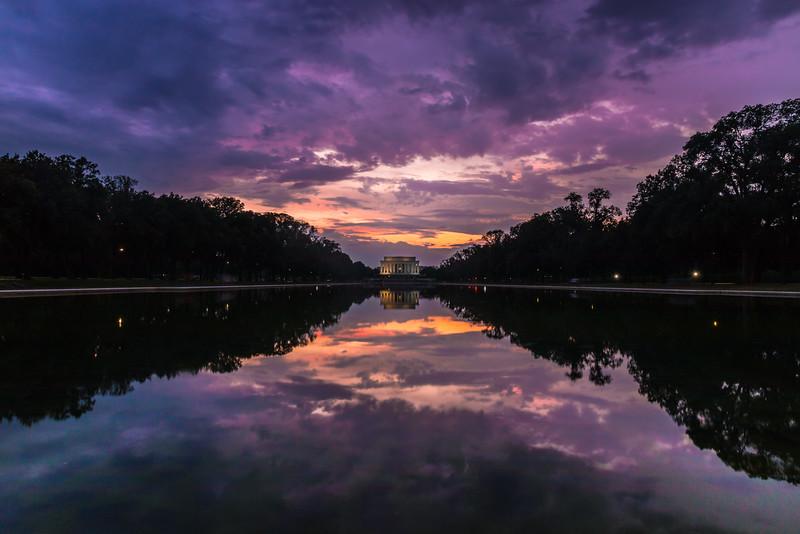 Reflecting Pool Sunset