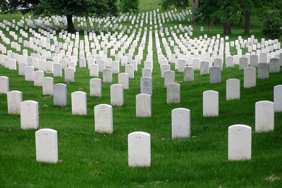 Arlington National Cemetary - Arlington VA ... May 30, 2005 ... Photo by Rob Page III