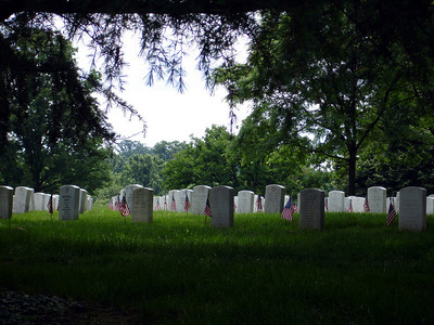 Rest In Peace - Arlington, VA ... May 30, 2005 ... Photo by Rob Page III