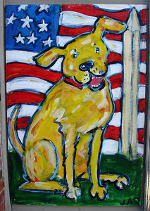 Doggy Sign - Alexandria, VA ... May 28, 2005 ... Photo by Rob Page III