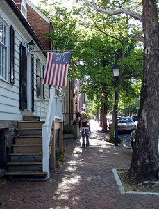 Emily exploring Old Town - Alexandria, VA ... May 28, 2005 ... Photo by Rob Page III