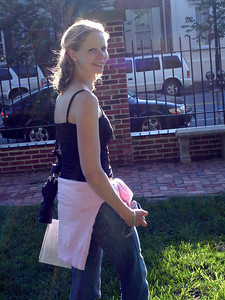 A smiling Emily - Alexandria, VA ... May 28, 2005 ... Photo by Rob Page III
