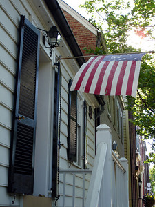 The front of a replica of George Washington's House - Alexandria, VA ... May 28, 2005 ... Photo by Rob Page III