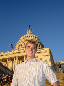 Rob and the Capitol - Washington D.C. ... May 28, 2005 ... Photo by Emily Conger