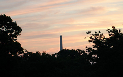 Washington Monument at Sunset - Washington D.C. ... May 29, 2005 ... Photo by Rob Page III