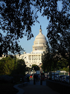 The Capitol in the setting sun - Washington DC ... May 28, 2005 ... Photo by Rob Page III