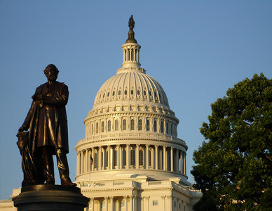 James Garfield and the Capitol - Washington D.C. ... May 28, 2005 ... Photo by Rob Page III