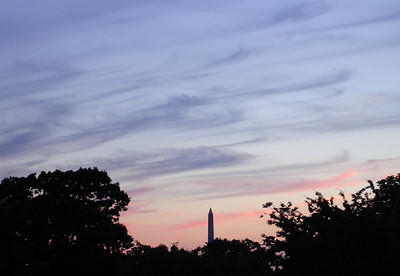 The Washington Monument at sunset - Washington D.C. ... May 29, 2005 ... Photo by Rob Page III